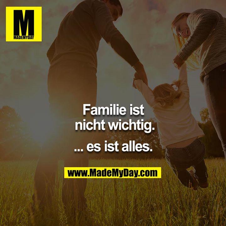 Die familie ist