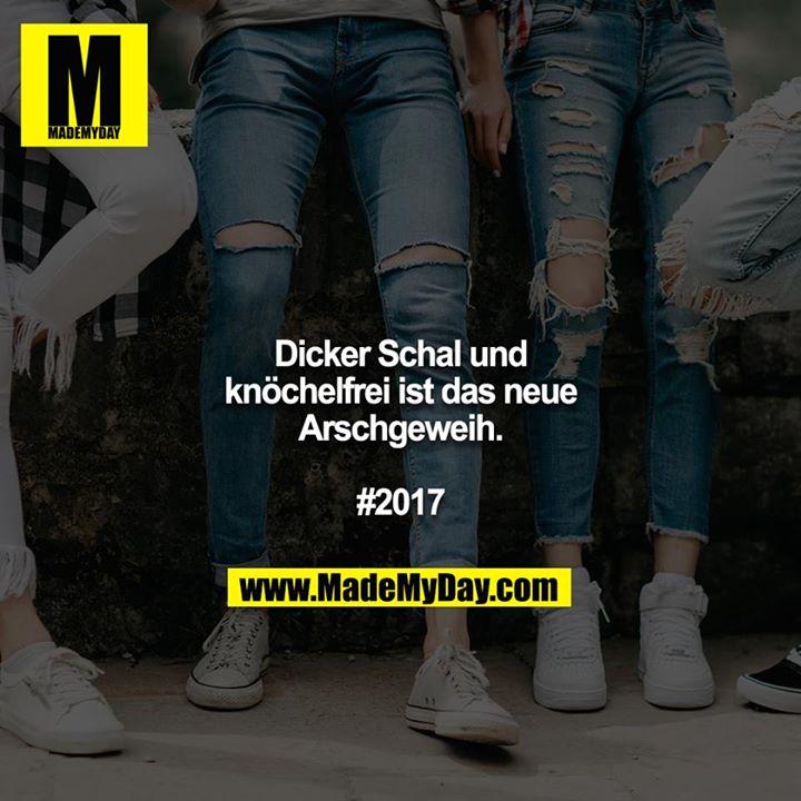 Dicker Schal und knöchelfrei ist das neue Arschgeweih.<br /> <br /> #2017
