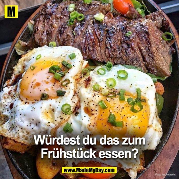 Würdest du das zum Frühstück essen?<br />