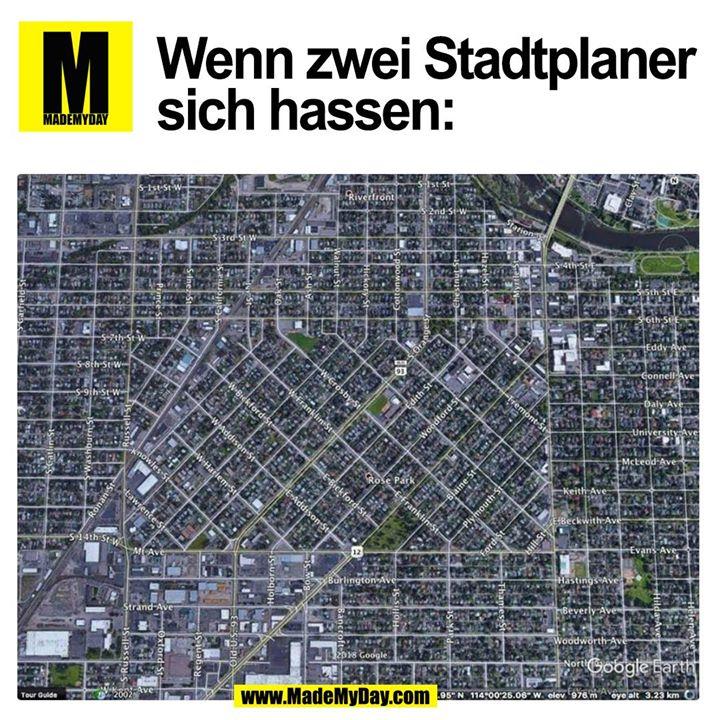 Wenn zwei Stadtplaner sich hassen: