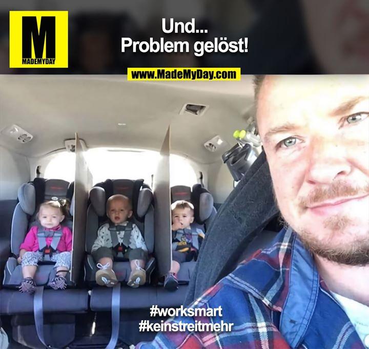 Und...<br /> Problem gelöst!<br /> <br /> #worksmart<br /> #keinstreitmehr