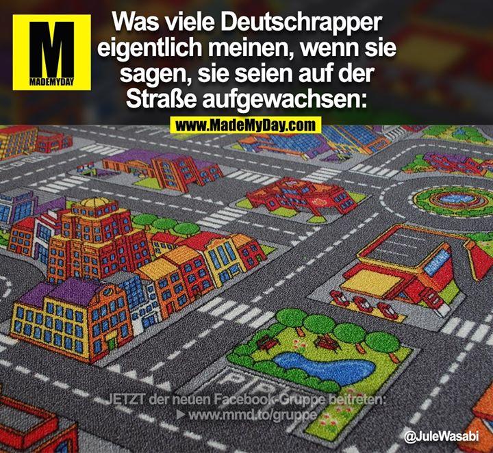 Was viele Deutschrapper<br /> eigentlich meinen, wenn sie<br /> sagen, sie seien auf der<br /> Straße aufgewachsen: