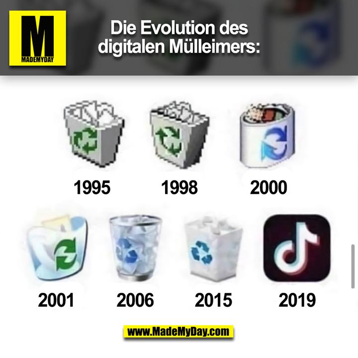 Die Evolution des digitalen Mülleimers: