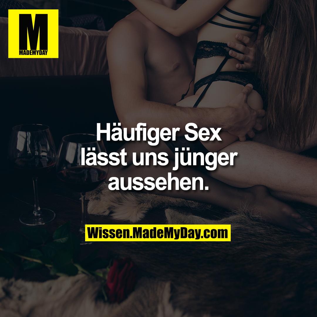Häufiger Sex lässt uns jünger aussehen.