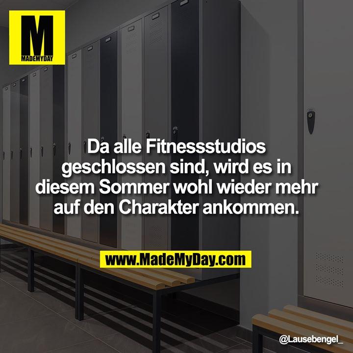 Da alle Fitnessstudios geschlossen sind, wird es in diesem Sommer wohl wieder mehr auf den Charakter ankommen.
