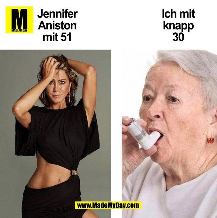 Jennifer Aniston mit 51 vs ich mit knapp 30 (BILD)