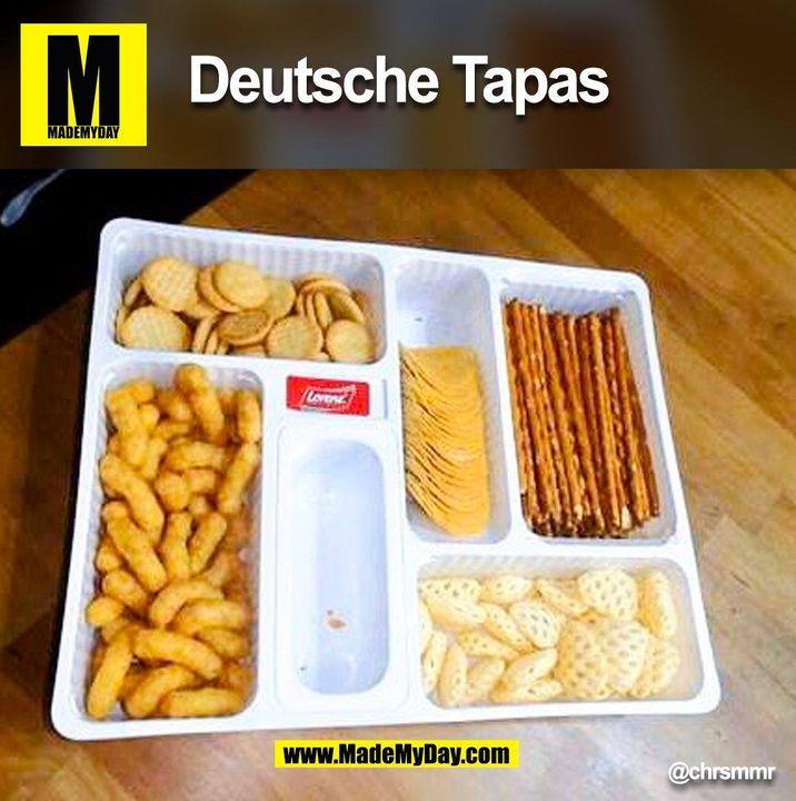 Deutsche Tapas<br /> @chrsmmr<br /> <br /> (BILD)