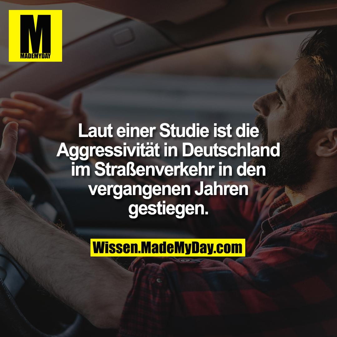 Laut einer Studie ist die Aggressivität in Deutschland im Straßenverkehr in den vergangenen Jahren gestiegen.