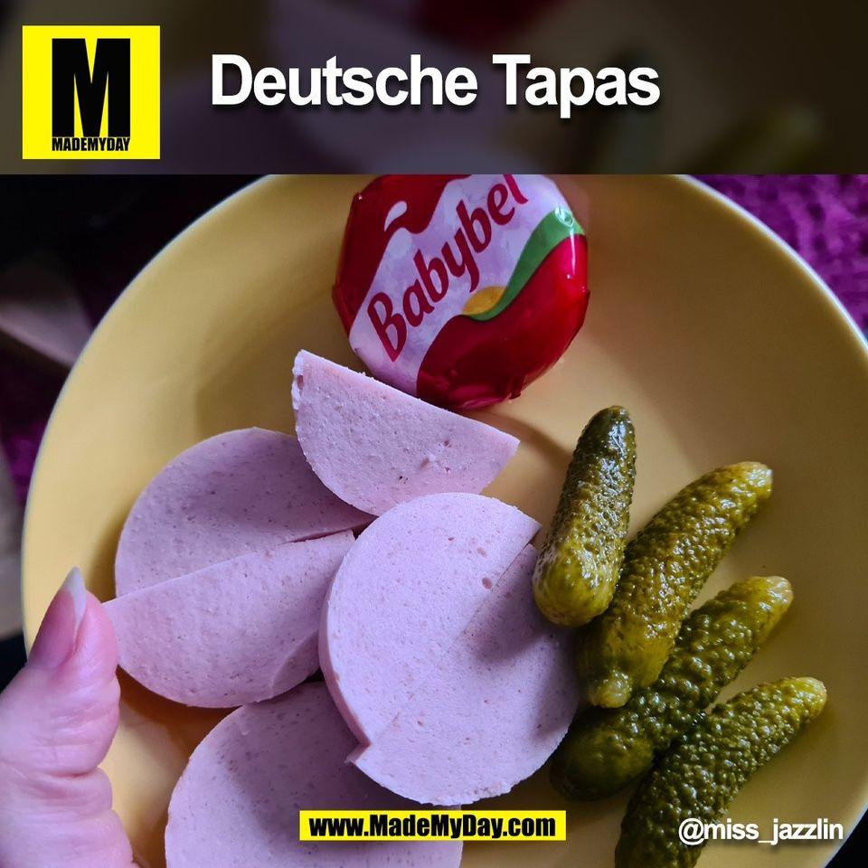 Deutsche Tapas @miss_jazzlin<br /> (BILD)