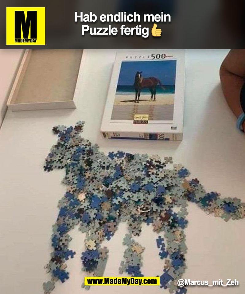 Hab endlich mein Puzzle fertig 👍<br /> @Marcus_mit_Zeh<br /> (BILD)