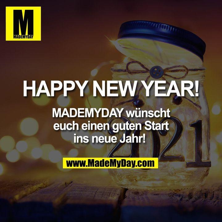 HAPPY NEW YEAR! MADEMYDAY wünscht euch<br /> einen guten Start ins neue Jahr!
