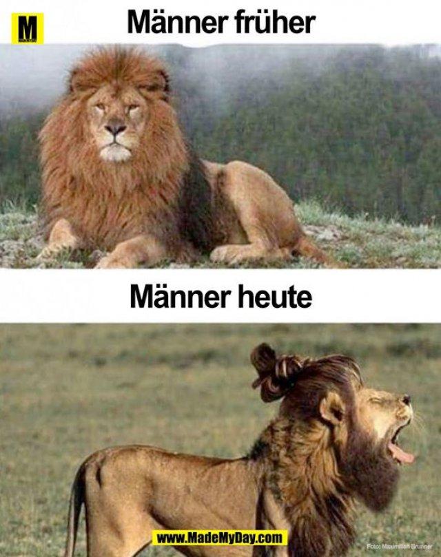 Männer früher vs. Männer heute