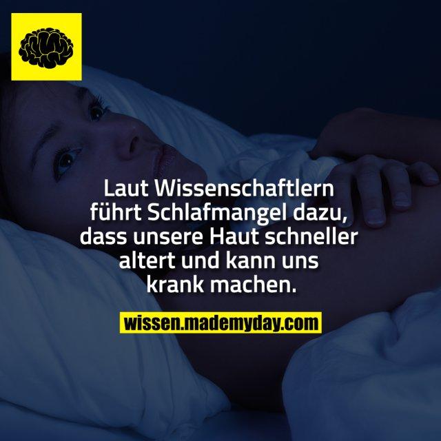 Laut Wissenschaftlern führt Schlafmangel dazu, dass unsere Haut schneller altert und kann uns krank machen.