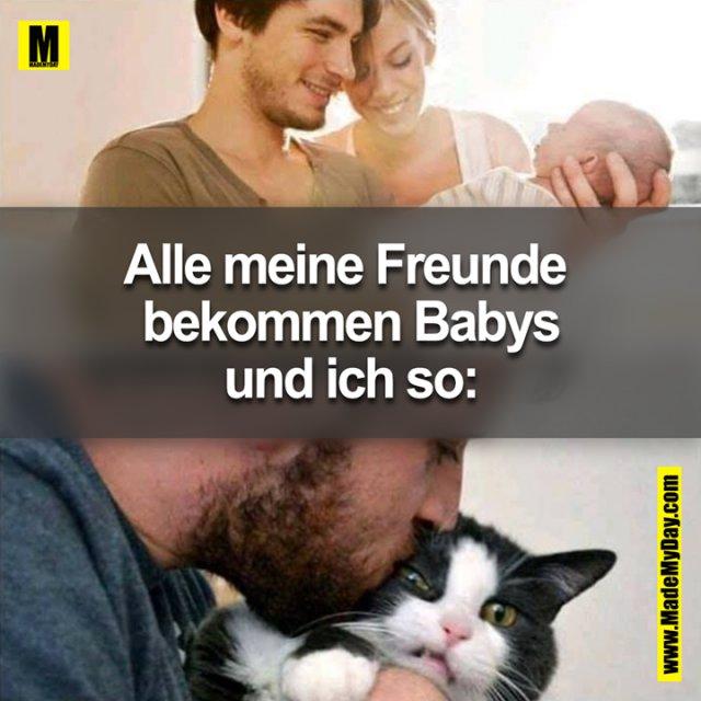 Alle meine Freunde bekommen Babys<br /> Und ich so …