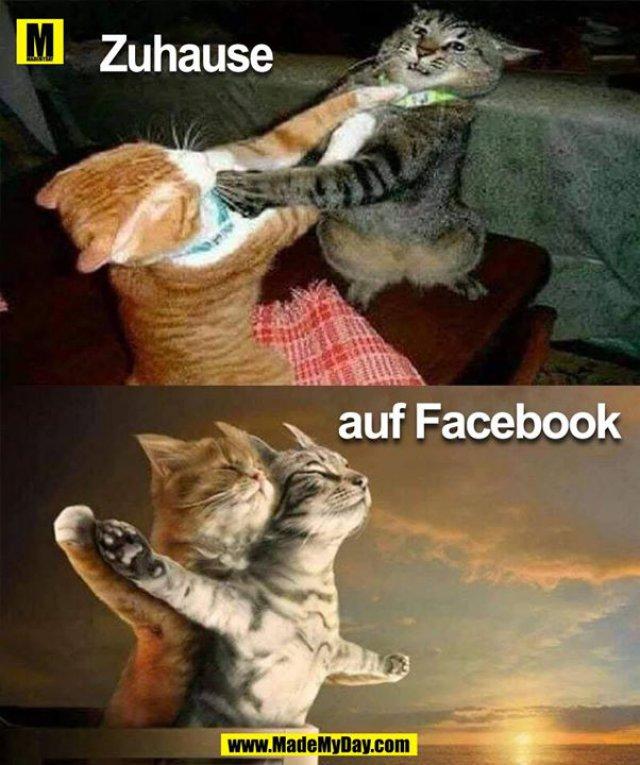 Zuhause<br /> auf Facebook