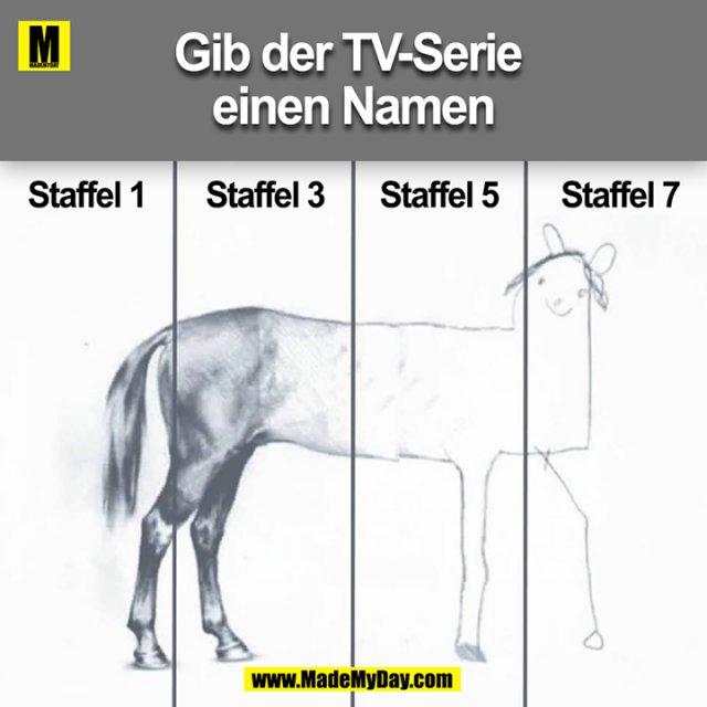 Gib der TV-Serie einen Namen