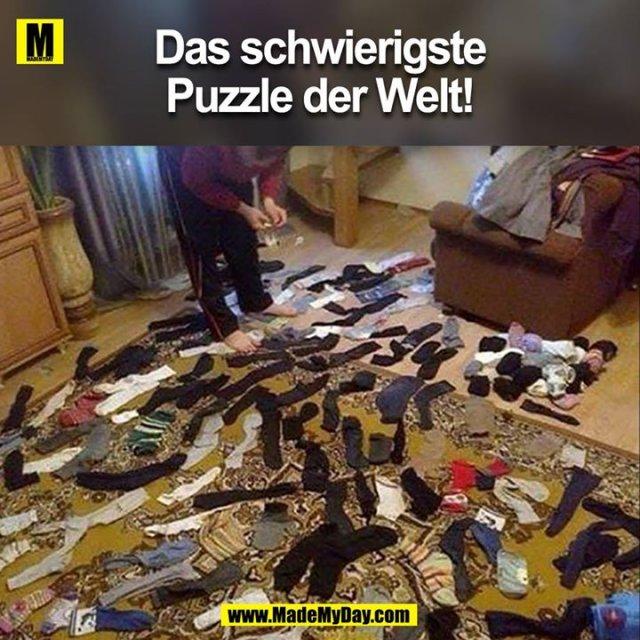 Das schwierigste Puzzle der Welt!