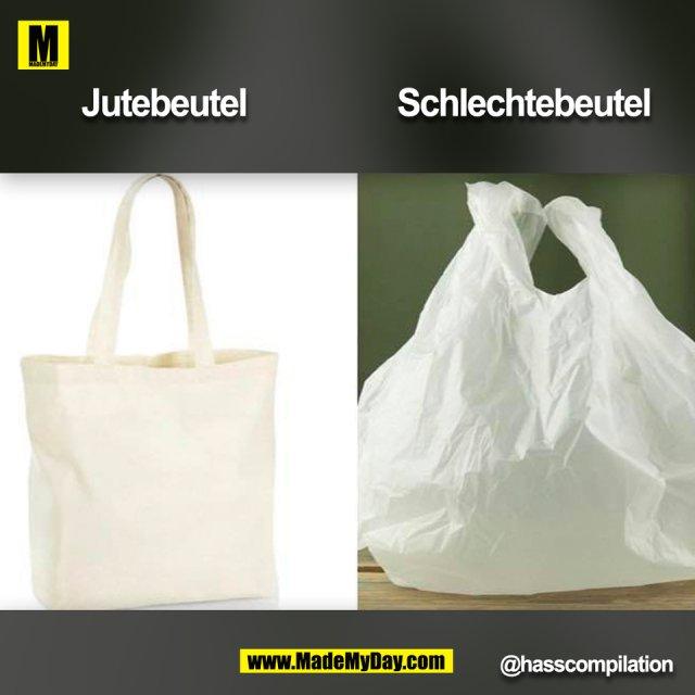 Jutebeutel Schlechtebeutel @hasscompilation (BILD)