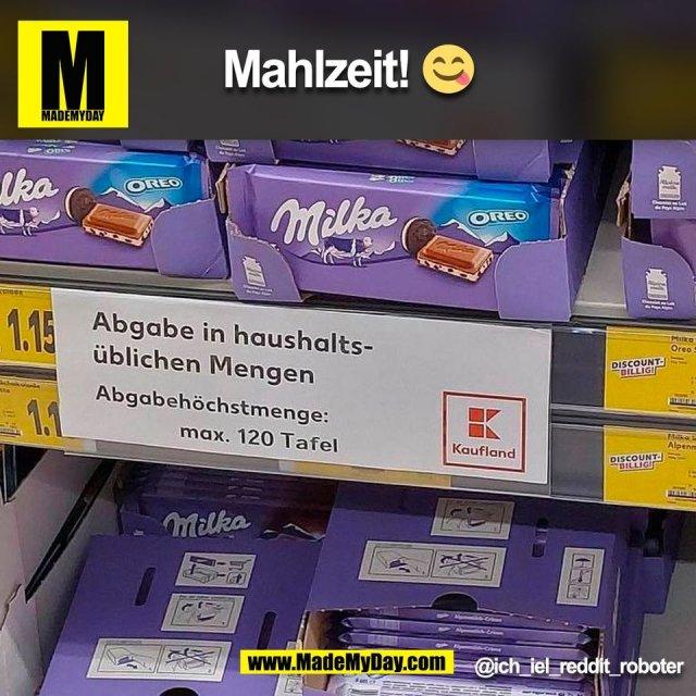 Mahlzeit! 😋<br /> @ich_iel_reddit_roboter<br /> (BILD)