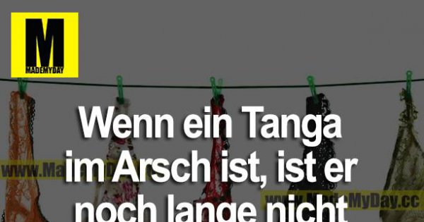 tanga arsch