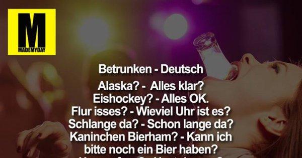 Deutsch Besoffen